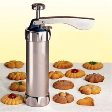 Machine Biscuit-Maker Cookie-Press Cake-Making Decorating-Gun Icing-Sets Kitchen Aluminum