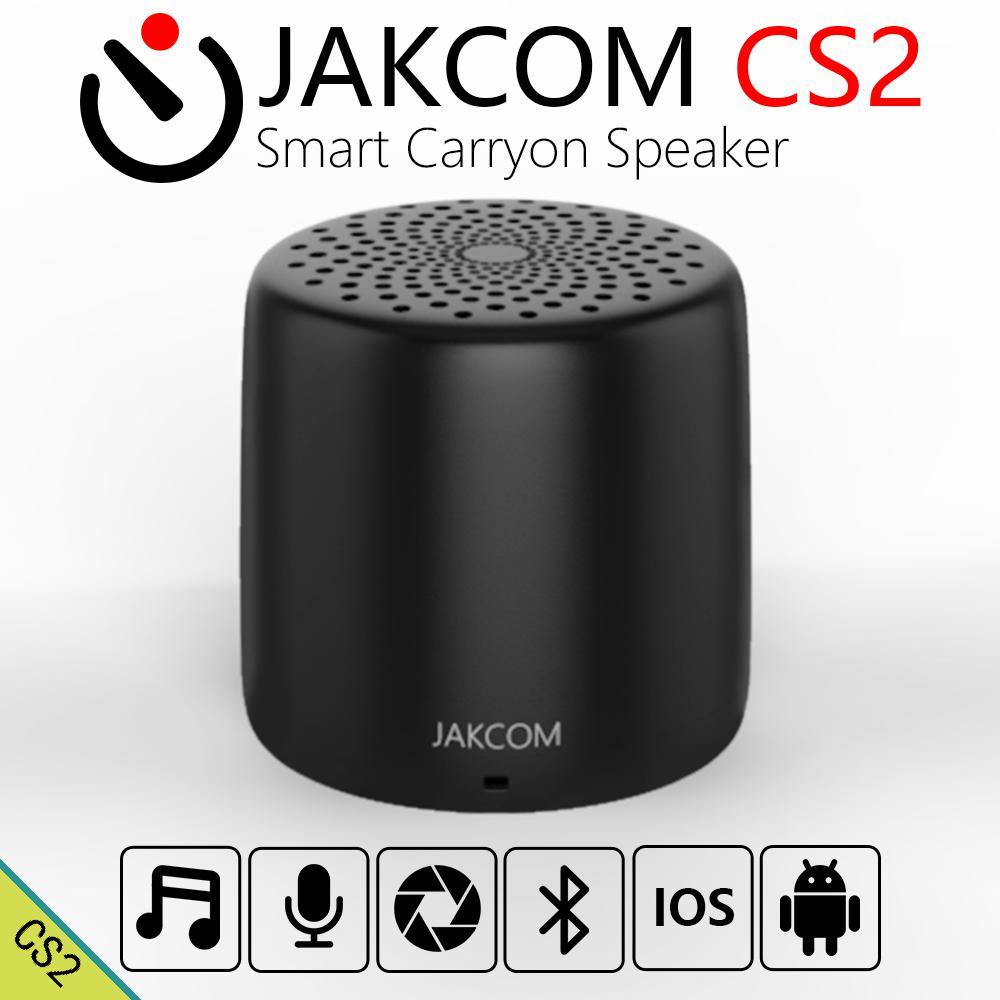 JAKCOM CS2 Smart Carryon Lautsprecher Mini Körper Fernbedienung Selfie Hohe-volumen Verbesserte Bass Mikrofon 30 minuten Für Schnelle ladung