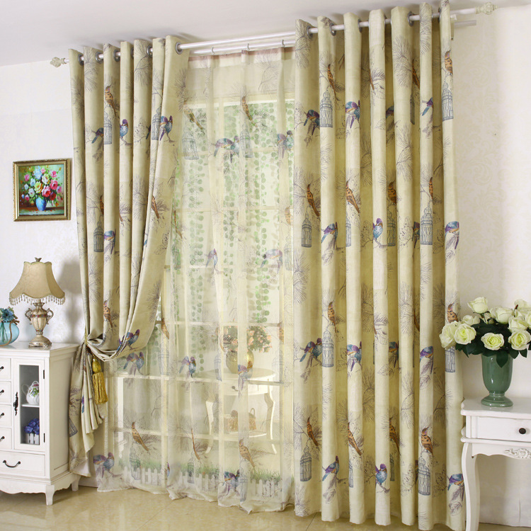 rustic living room curtains singl panel american rustic style curtains for living room 13080