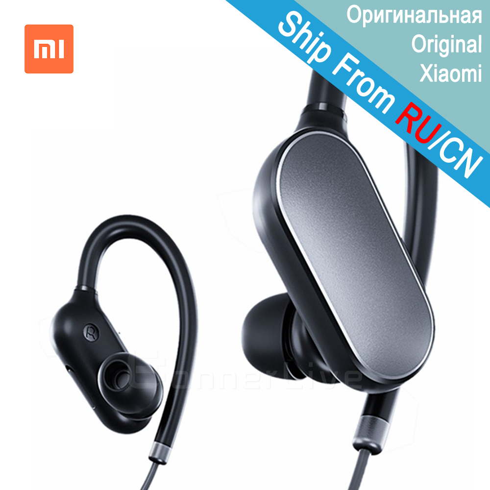 Original Xiaomi Earphone Mi Sport Bluetooth Headset Wireless Earbuds With Microphone Waterproof Bluetooth 4.1 for Xiaomi iPhone телевизор thomson t43d19sfs