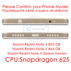 Image 2 - For Xiaomi Redmi Note 4 Global Version Metal Back Battery Housing Cover Redmi Note4 back Cover Snapdragon 625 Replacement Parts