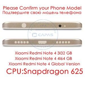 Image 2 - עבור Xiaomi Redmi הערה 4 הגלובלי גרסת מתכת חזור סוללה שיכון כיסוי Redmi Note4 חזרה כיסוי Snapdragon 625 החלפת חלקים