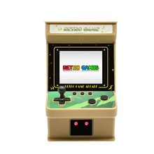 2.8 Inch Large Screen Retro Nostalgic Handheld Boy Video Player  Pocket Game Console Players Built-in 256 Games Two Batt