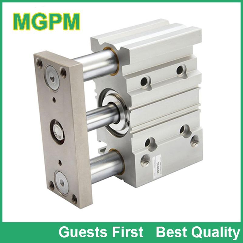 MGP series MGPM MGPL Compact 3 Guide Rod Air Pneumatic Cylinder MGPM25-100 MGPL25-100 MGPM25*100 MGPL25*100 100