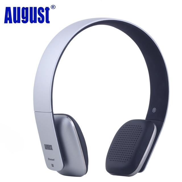 Mese di agosto EP636 Bluetooth Cuffie con Microfono Stereo Senza Fili  Auricolare Bluetooth BT4.1 ecf6c695fbaf