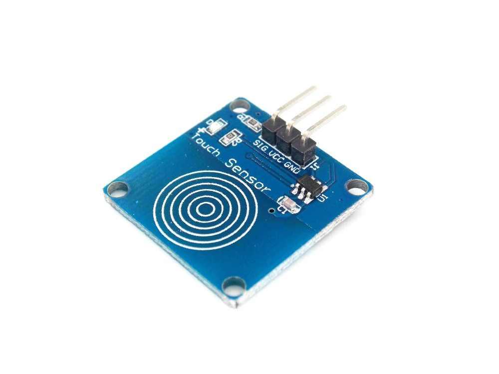 1 PCS TTP223B 1 Kênh Jog Cảm Ứng Kỹ Thuật Số Cảm Biến Cảm Ứng Nhạy Cảm Cảm Ứng Chuyển Đổi Module Phụ Kiện cho Arduino DIY Robot Đồ Chơi RC