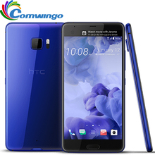 2017 Original HTC U Ultra Mobile Phone 4GB ram 64GB rom Snapdragon 821 Quad Core 5.7inch Android 7.0 16MP DualView Phone NFC