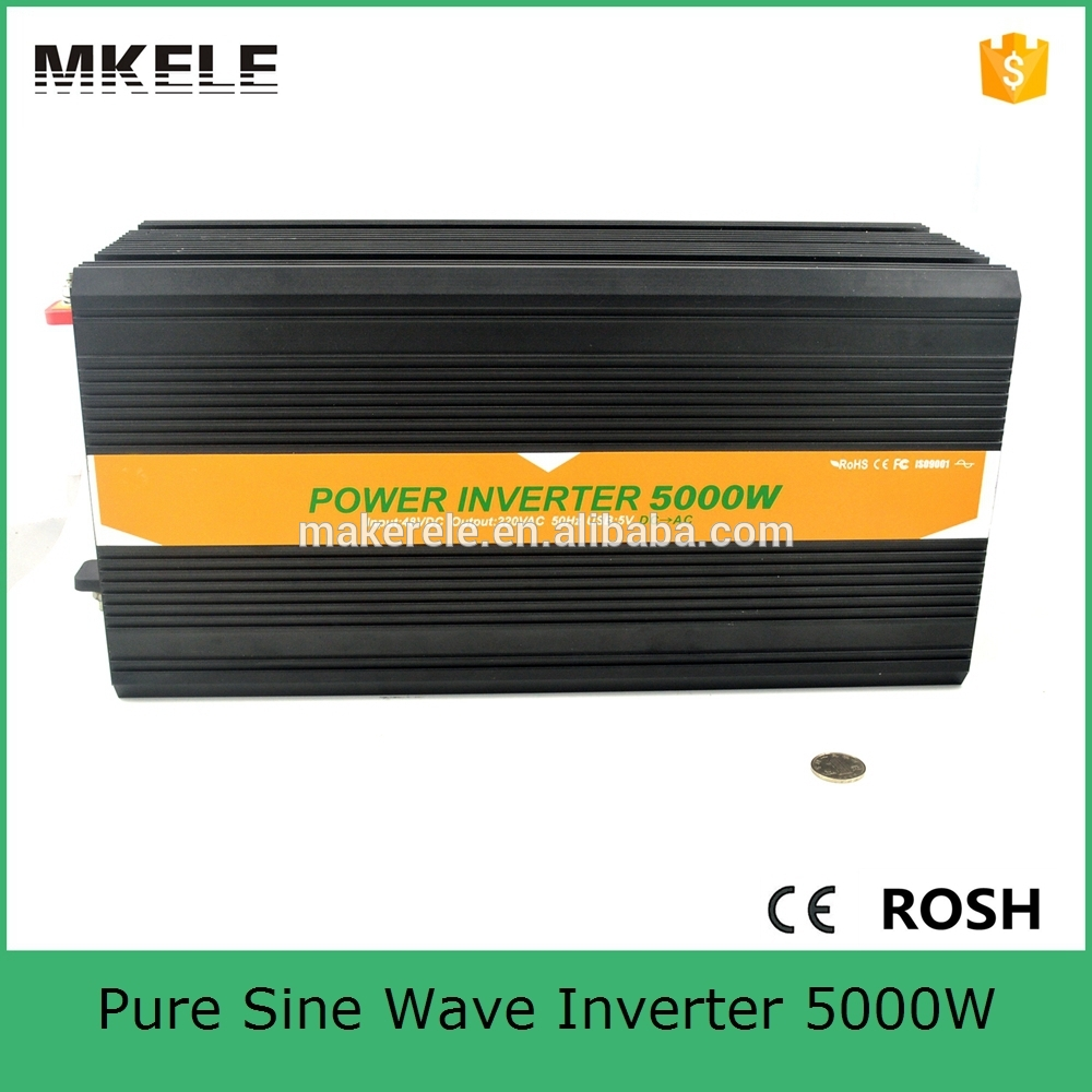 MKP5000-481B pure sine dc ac power inverter 5kva solar power inverter off-grid pure sine wave electronic inverter 48v 120v/110v ce and rohs dc 48v to ac 100v 110v 120v 220v 230v 240v off grid 6000 watt pure sine wave inverter