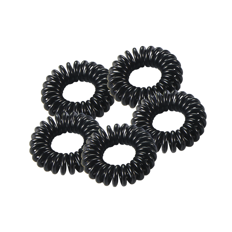 5PCS New Telephone Wire Line Elastic Hair Bands For Women Autumn Rubber Band Hair Accessories For Women Hair Ties Hair Rope 376