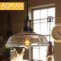 glass pendant light clear color ,amber color,grey color for choose vintage glass pendant lamps edison pendant lights 110V 220V