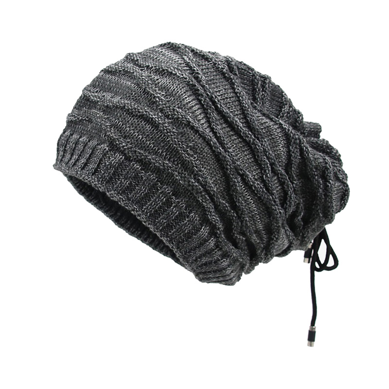 c200f80eb1b Men s Winter Hats Thick Warm Knitted Beanies Hats Cotton Winter Accessories  Skullies   Beanies Male Beanies