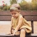 Kamimi детское платье новый европейский стиль прекрасный ребенок платье без рукавов хлопок мода высокое качество платье принцессы детская одежда A304