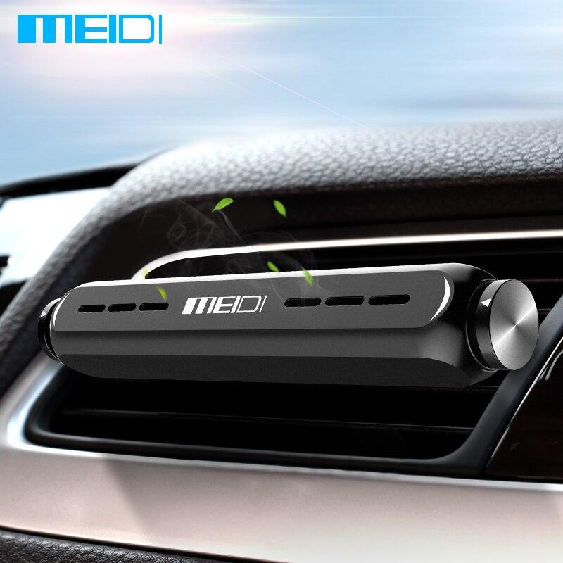 MEIDI soporte ambientador de aire del coche vehículo fragancia sólida para coche de montaje de ventilación de ambientador de aire de Interior de ventilación y aire acondicionado