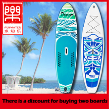 цена на Inflatable Stand Up Paddle Board Sup-Board Surfboard Kayak Surf paddle set 320*84*15cm with Backpack,leash,pump,waterproof bag