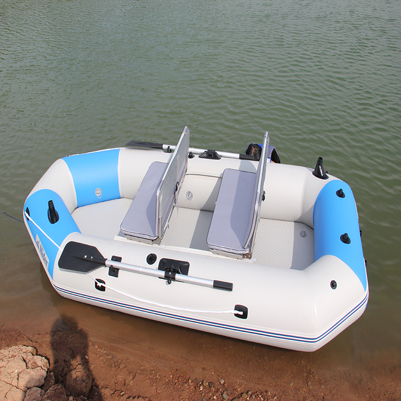 CE folding inflatable airmat floor with ranger fishing PVC