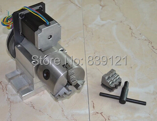 Engraving machine and the fourth axis (A axis, the axis of rotation, CNC dividing head) type D cnc 5axis a aixs rotary axis t chuck type for cnc router cnc milling machine best quality