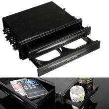 Новейший универсальный автомобильный пластиковый двойной Din радио комплект для карманного напитка-подстаканник и коробка для хранения