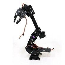 DoArm S8 8DoF металлическая рука робота/ручной алюминиевый сплав Роботизированный манипулятор ABB Arm модель коготь для Arduino WiFi комплект рука робота DIY