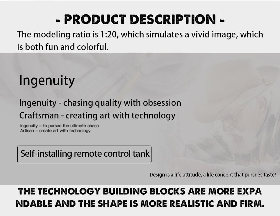 blocos de construção tijolos carro controle remoto