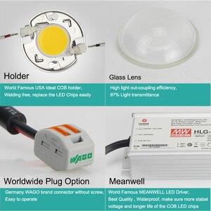 Image 5 - Luz LED de cultivo hidropónico para invernadero, 100W, 200W, 600W, Cree CXB3590, espectro completo, lámpara de cultivo interior para tienda de jardín, crecimiento de plantas