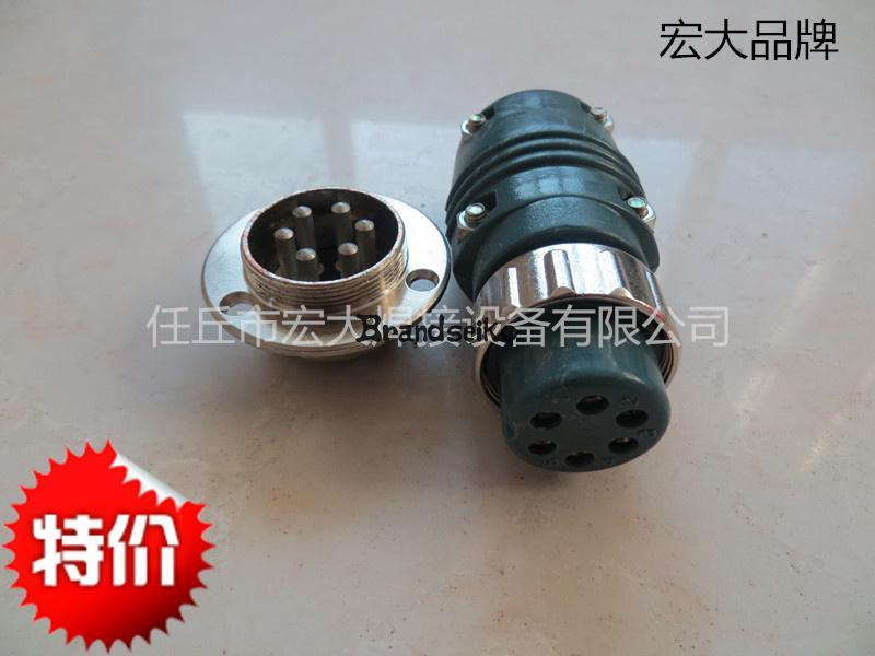 WELDING MACHINE Six Core Aviation Plug And Socket Carbon Dioxide Co2 Wire Feeder Welding Machine Parts  цены