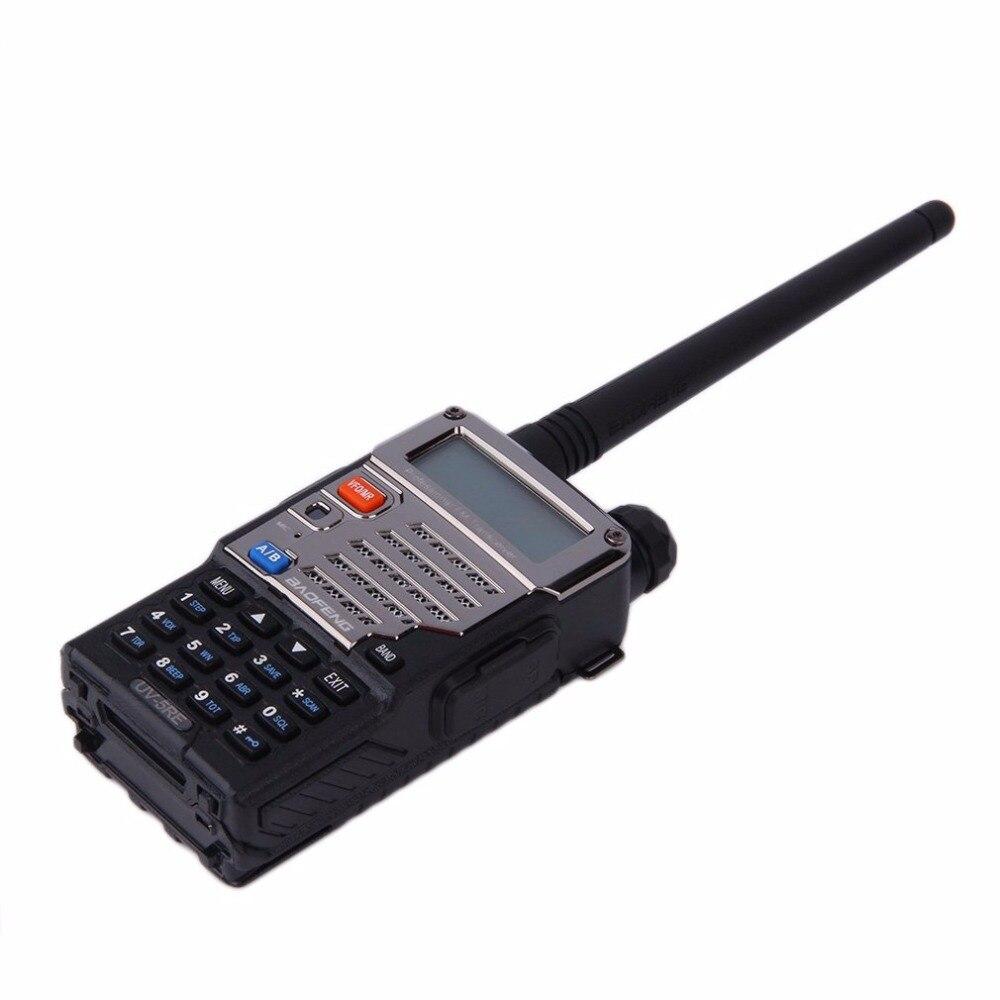 Baofeng BF-UV-5RE écran LCD talkie-walkie économiseur de batterie 5 W 128CH FM VOX DTMF Radio bidirectionnelle adaptateur US prise EU avec antenne - 6