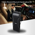 New Portable Headset Phone Speaker Bluetooth Car Kit V3.0+EDR Wireless Hands free  Bluetooth Speakerphone Kit with Car Charger