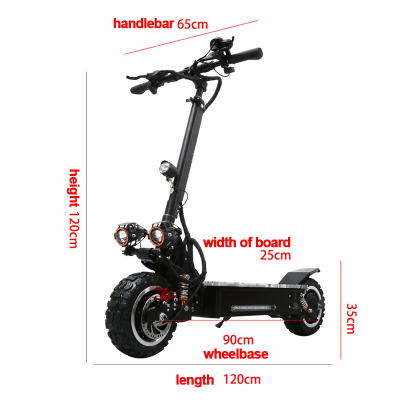 60V 3200W Powerful Electric Scooter Off Road Scooter Electrico 80KM/H  11 Foldable Adult Two Wheels Scooter Electrique Motor60V 3200W Powerful Electric Scooter Off Road Scooter Electrico 80KM/H  11 Foldable Adult Two Wheels Scooter Electrique Motor
