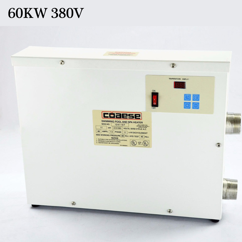 High Quality 60KW 380V Automatic Swimming Pool Thermostat SPA Heater Temperature ControllerHigh Quality 60KW 380V Automatic Swimming Pool Thermostat SPA Heater Temperature Controller