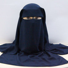 Мусульманская бандана шарф мусульманская 3 слойная шапочка niqab