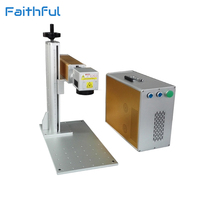 Portable 30W Fiber Laser Marking And Engraving Machine On Sale