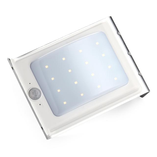 8pcs/lot 16 LED Solar Light Outdoor Light Waterproof Energy Saving Wall Light,Motion Sensor Solar Lights for Garden Decoration