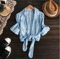 Джинсовая куртка женская весна лето джинсовые куртки кардиган jaqueta feminina abrigos y chaquetas XQ1500