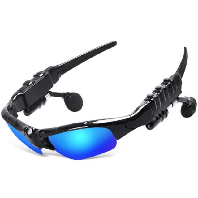 Anime hatsune miku óculos de sol fone de ouvido bluetooth 4.1 música estéreo esporte fone de ouvido sem fio fone de ouvido para iphone samsung htc mp3