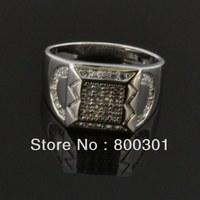 ew Fashion rings for women Platinum Plated jewelry CZ wedding bride rings
