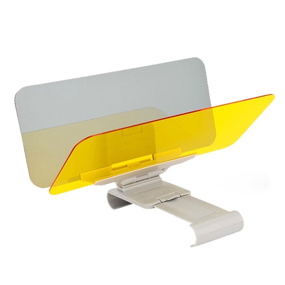 Car Day And Night Anti-glare Visor 2 In 1 Automobile Sun Anti-UV Block Visor Non-Glare Anti-Dazzle For Driving Goggles