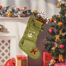 Tactical Stocking Bag For Christmas Gifts