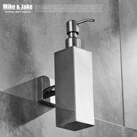 Stainless Steel 304 Bathroom Soap Bottle Dishes Bathroom Wall Soap Holder Shelf Chorm Soap Dish Bathroom