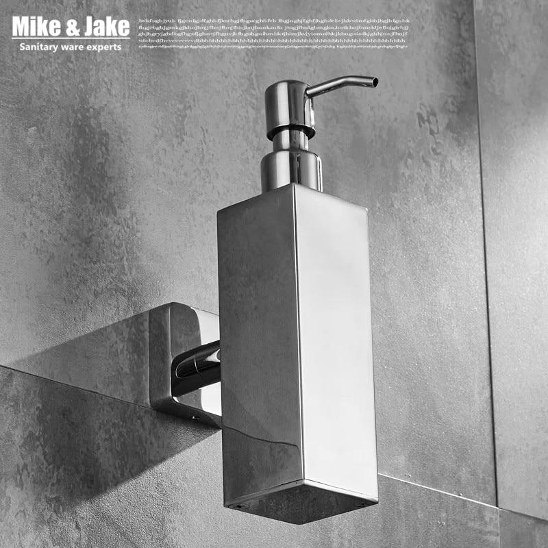 Acier inoxydable 304 salle de bains savon bouteille plats salle de bains porte-savon mural étagère chorme savon salle de bains matériel accessoires