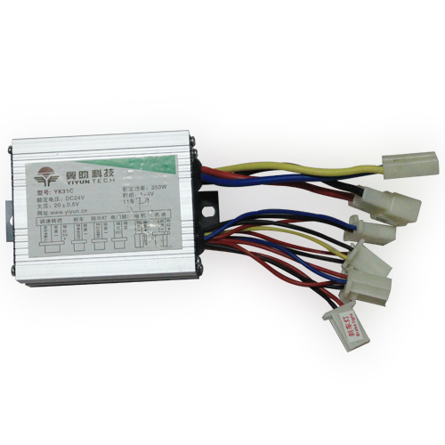 Free Shipping 24v 350w Brush Dc Motor Speed Controller For