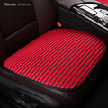 Karcle Universal Seat Cushion 3PCS Car-covers Durable Anti-mildew Antibacterial Seat Protector Car-styling 4 Seasons Accessories