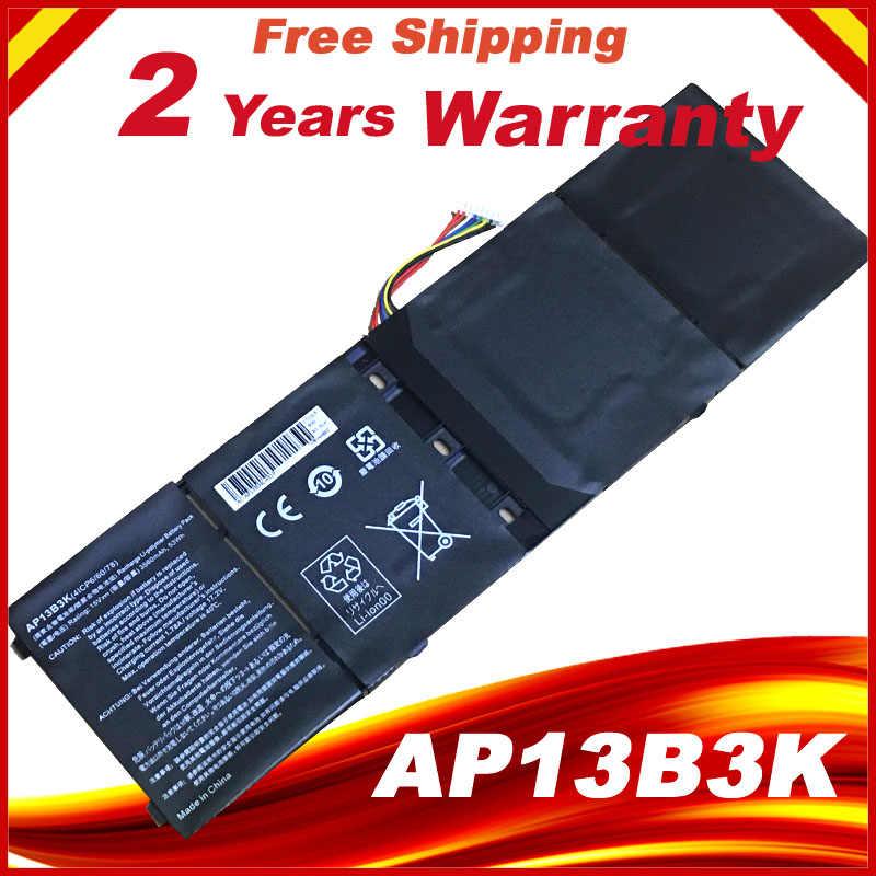 15โวลต์3560มิลลิแอมป์ชั่วโมงใหม่AP13B3K AP13B8Kแบตเตอรี่สำหรับA Cer A Spire V5-573G V7-582PG V5-472 V5-452PG