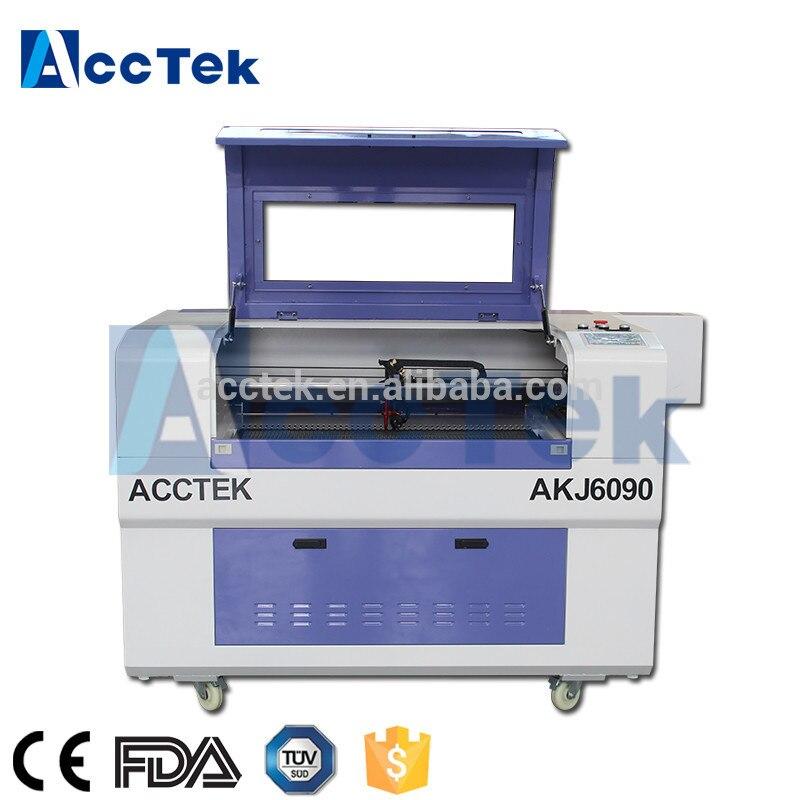 Machine de marquage laser AK6090 adaptée aux matériaux non métalliques machine laser 60 w machine laser co2