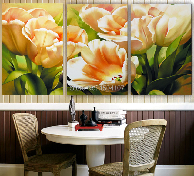3 Pieces Modern New design canvas painting wall pictures for home ...