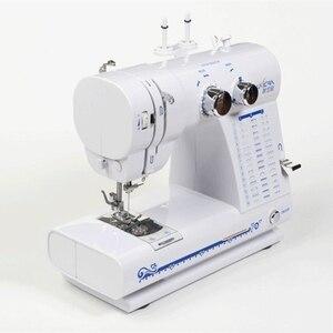 Função whipstitch, pode substituir o calcador, com pedais elétrica multifuncional máquina de costura do Agregado Familiar, com o lado