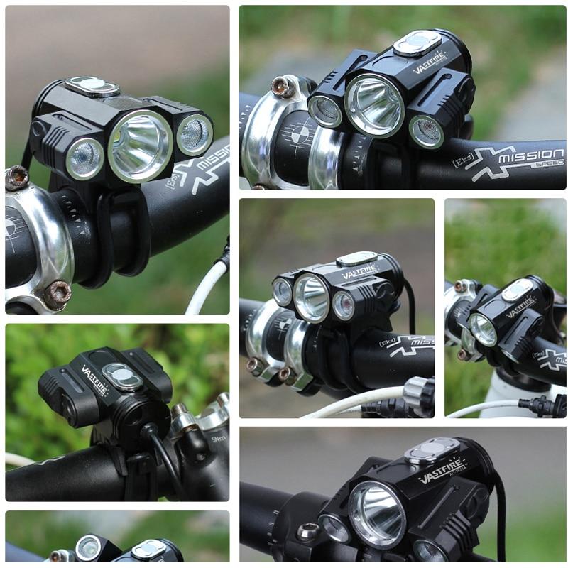 DEL Bike Light Super Bright étanche Phare Cycle Accessoires Lampe de Poche UK