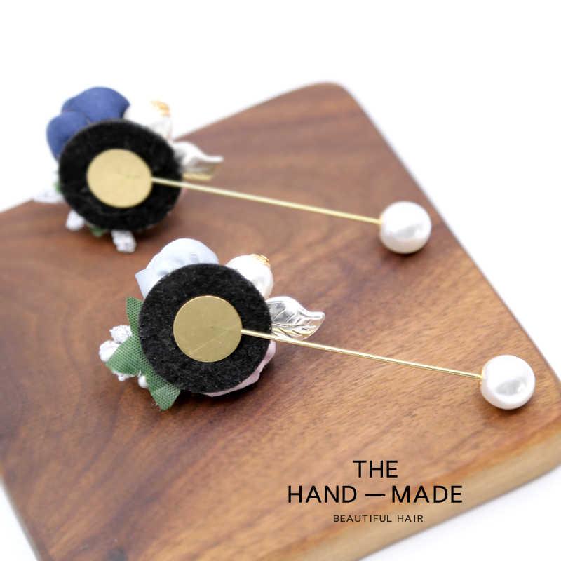 3D ручной работы цветок Ретро-броши коробка упаковка брошь flor Флер брошь для шпильки/сумка украшения/декоративная шаль
