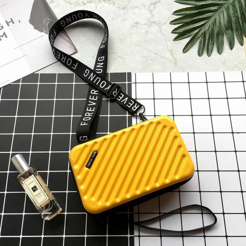 Luxe Handtassen Designer Tassen Voor Vrouwen 2020 Koffer Vorm Bakken Mode Kleine Bagage Tas Dames Beroemde Merk Clutch Bag
