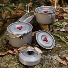 Fire Maple Camping Cookware Aluminum Pot Camping Cooking Kit Panelas Camping Picnic Cookware Cook Pot Fire Maple FMC-212