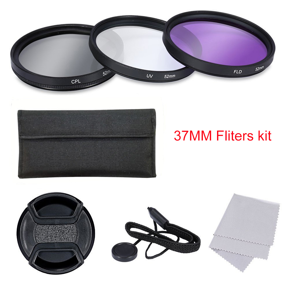 CPL+UV+FLD Lens Filter 52 55 58 62 72 77 mm Kit for Canon EOS 600D 7D Nikon D5300 Sony A7 DSLR Camera Lens with Filter Thread 1